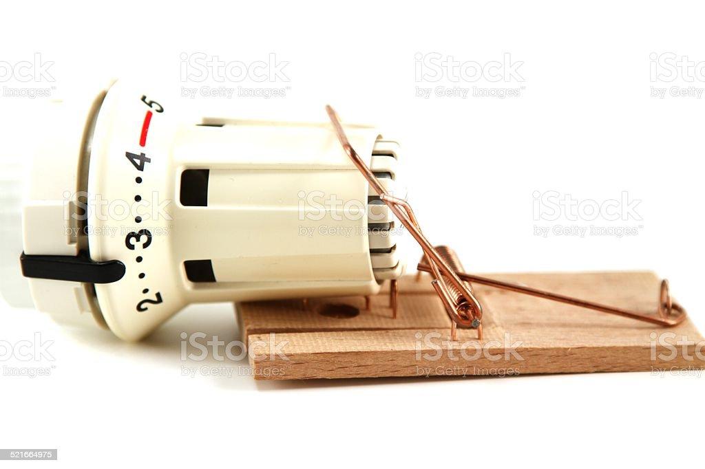 Cost trap - symbolically stock photo