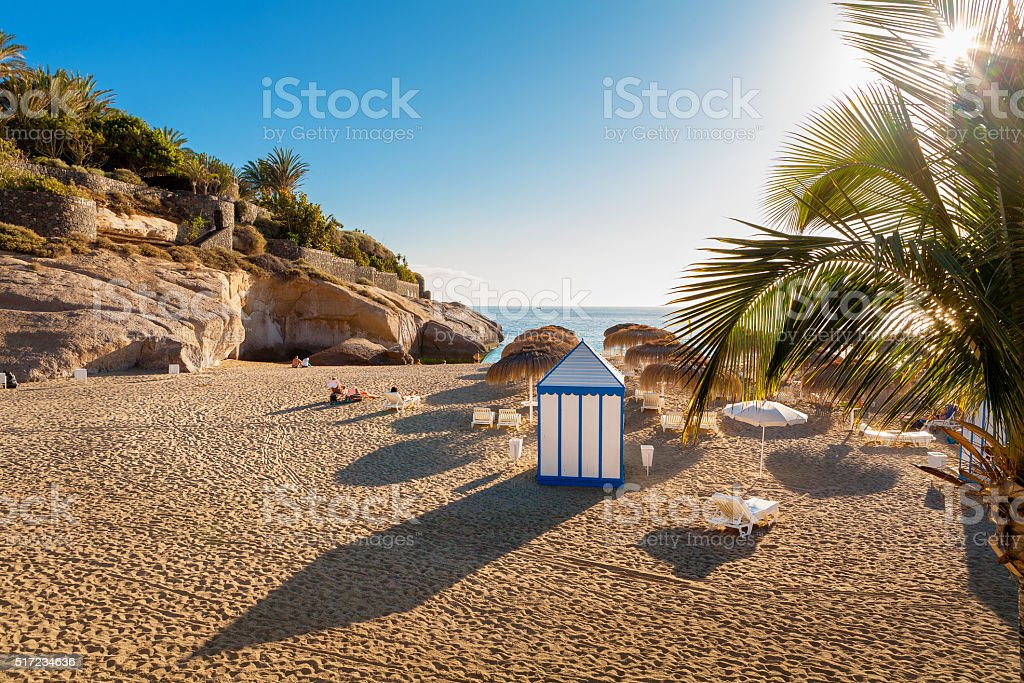 Costa Adeje. Tenerife, Canary Islands, Spain stock photo