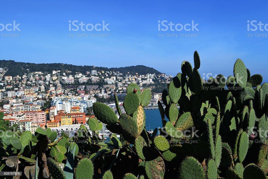 Costa Azzurra, Nizza stock photo
