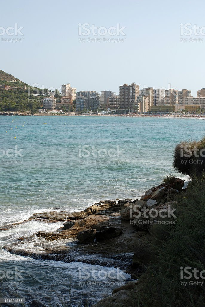Costa Blanca royalty-free stock photo