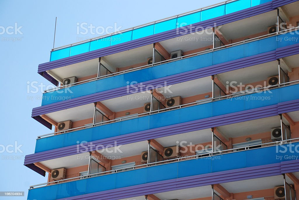 Costa Blanca royalty-free stock photo