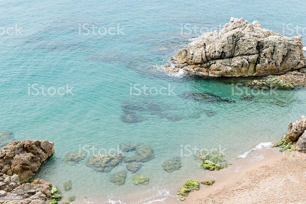 Costa Brava - Girona (Spain) stock photo