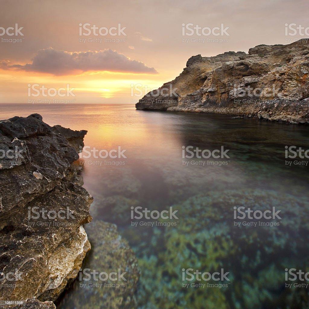 Costa Brava royalty-free stock photo