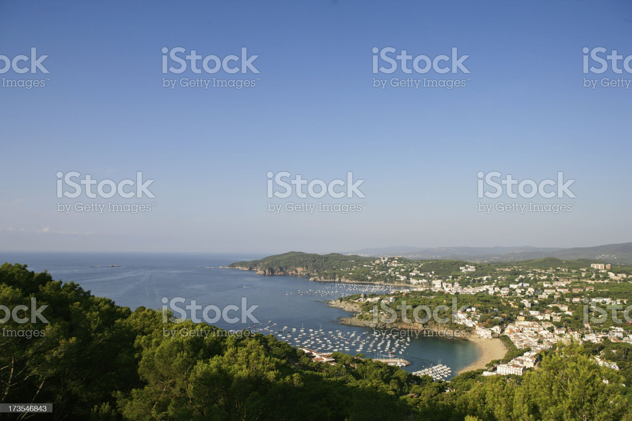 Costa Brava (Spain) royalty-free stock photo
