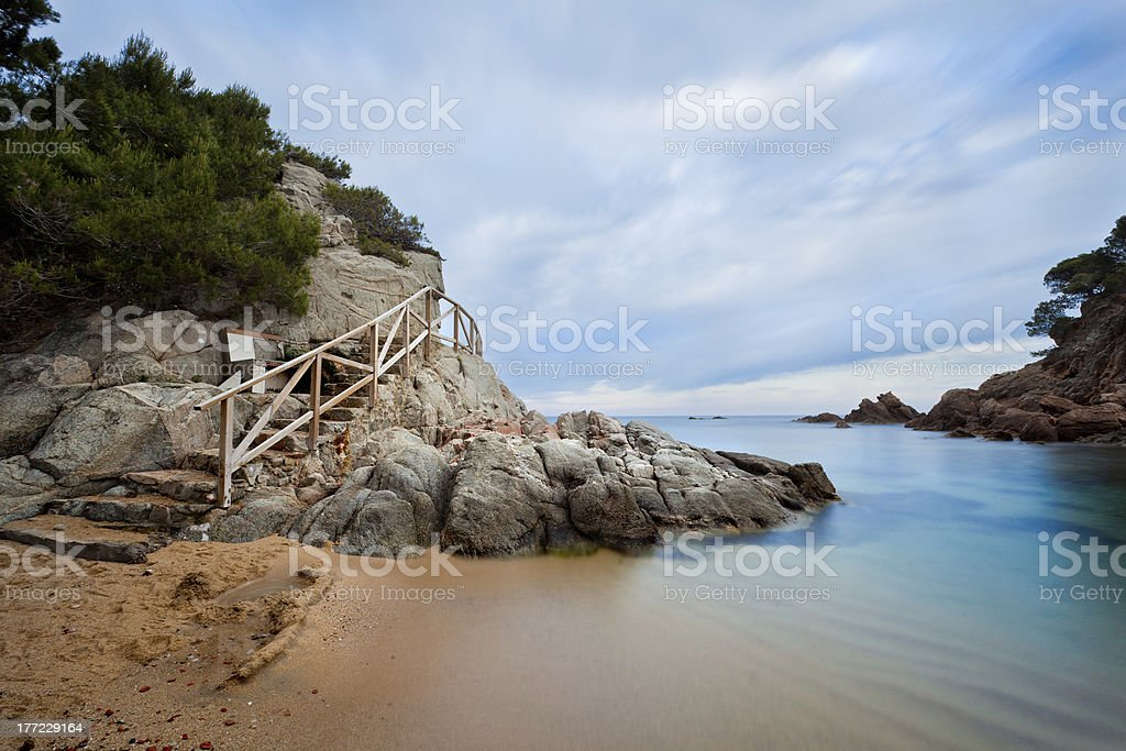 Costa Brava Lizenzfreies stock-foto