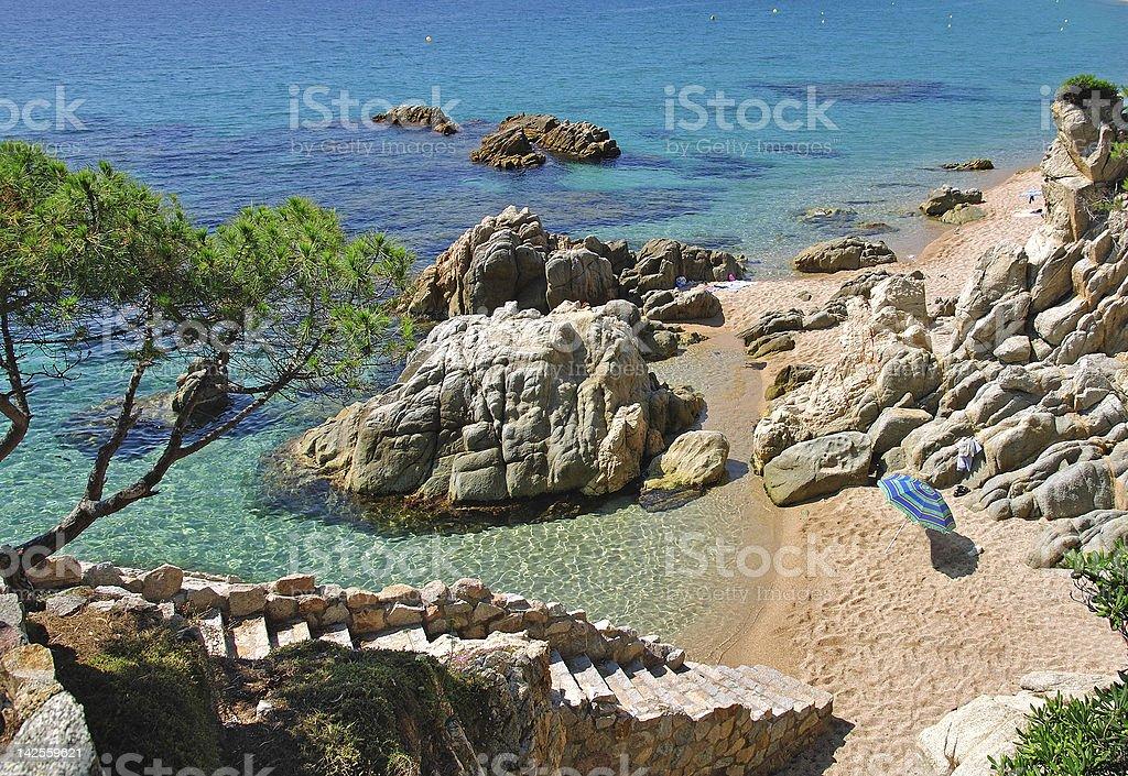 Costa Brava,Catalonia,Spain stock photo
