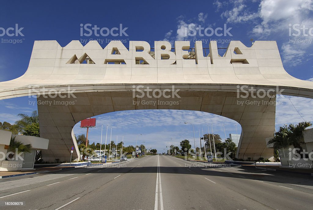 Costa del sol. stock photo