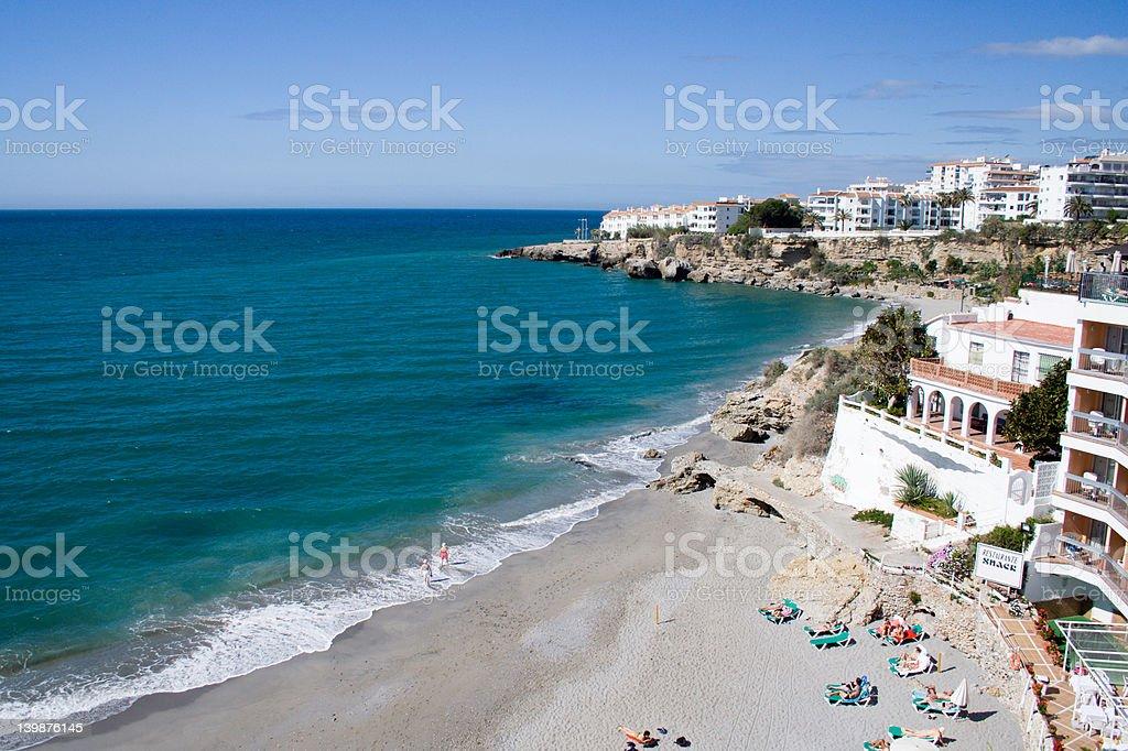 Costa del Sol Scenic royalty-free stock photo