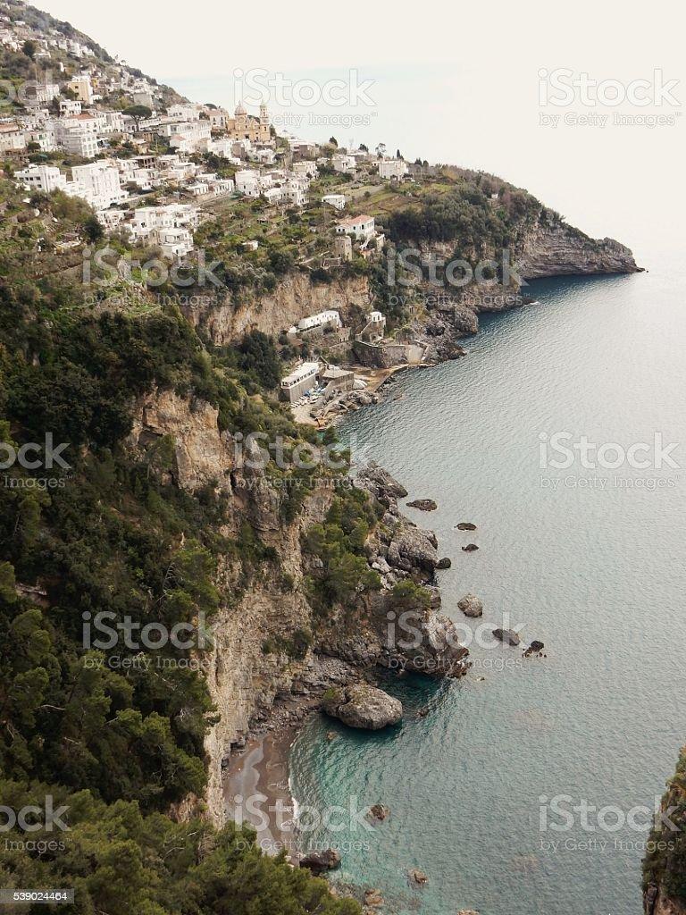 Costa di Praiano stock photo