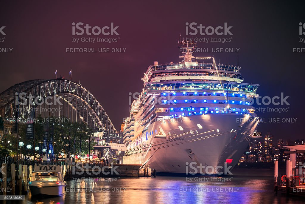 Costa Luminosa cruise ship stock photo