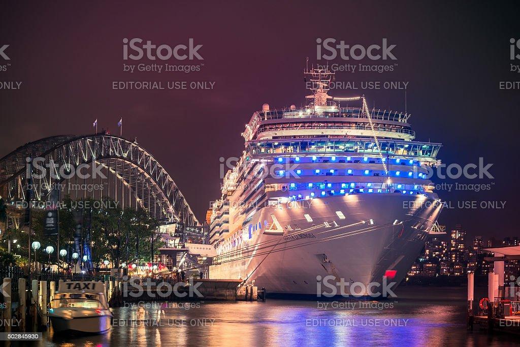 Costa Luminosa cruise ship stock photo