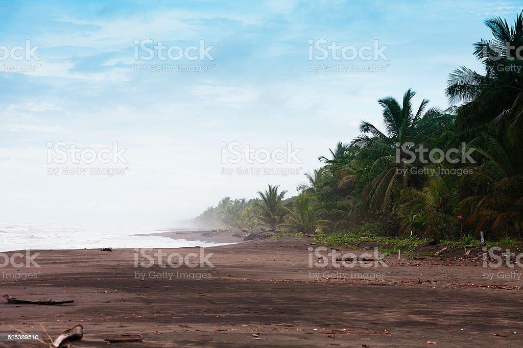 Costa Rica beach stock photo