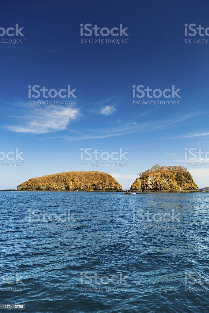 costa rica coast line royalty-free stock photo