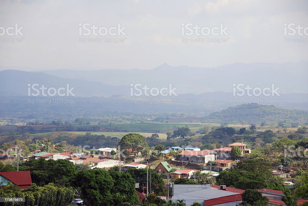 Costa Rica Countryside stock photo