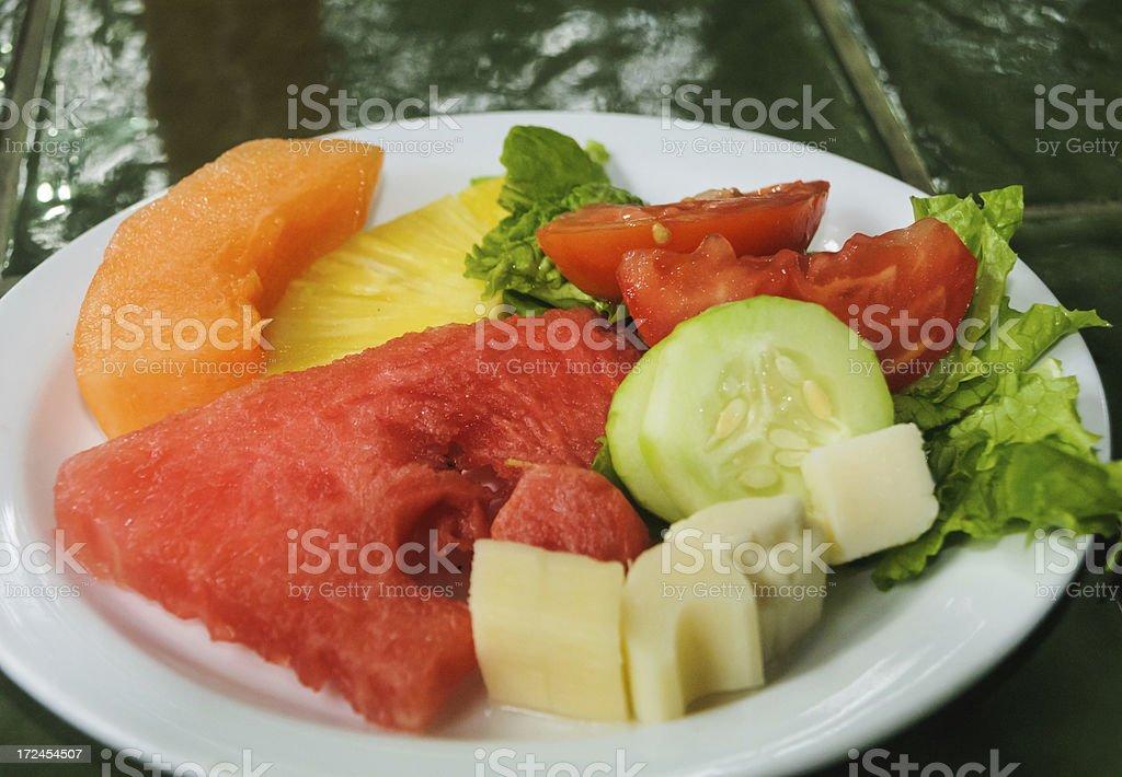 Costa Rica Fruit Salad royalty-free stock photo