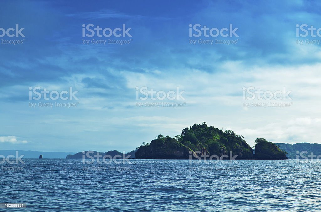 costa rica islets stock photo