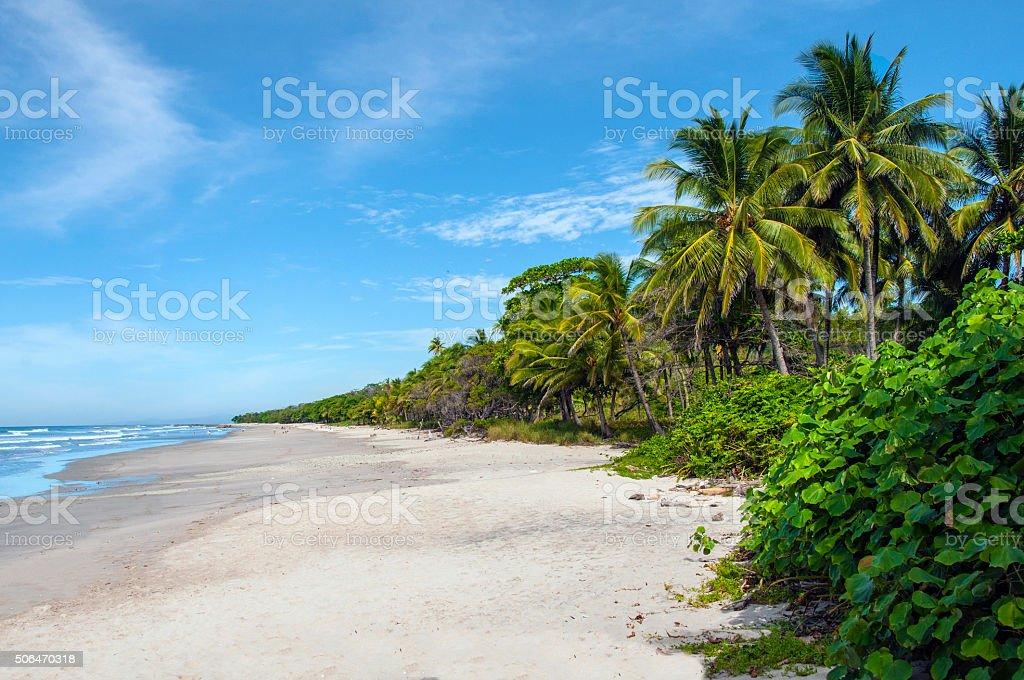 Costa Rica Pacific stock photo
