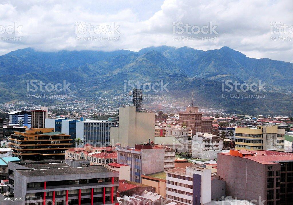 Costa Rica - San José business district stock photo