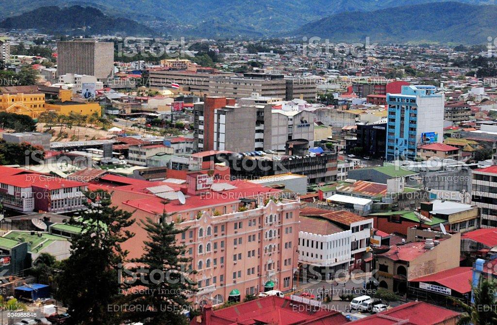 Costa Rica - San José stock photo