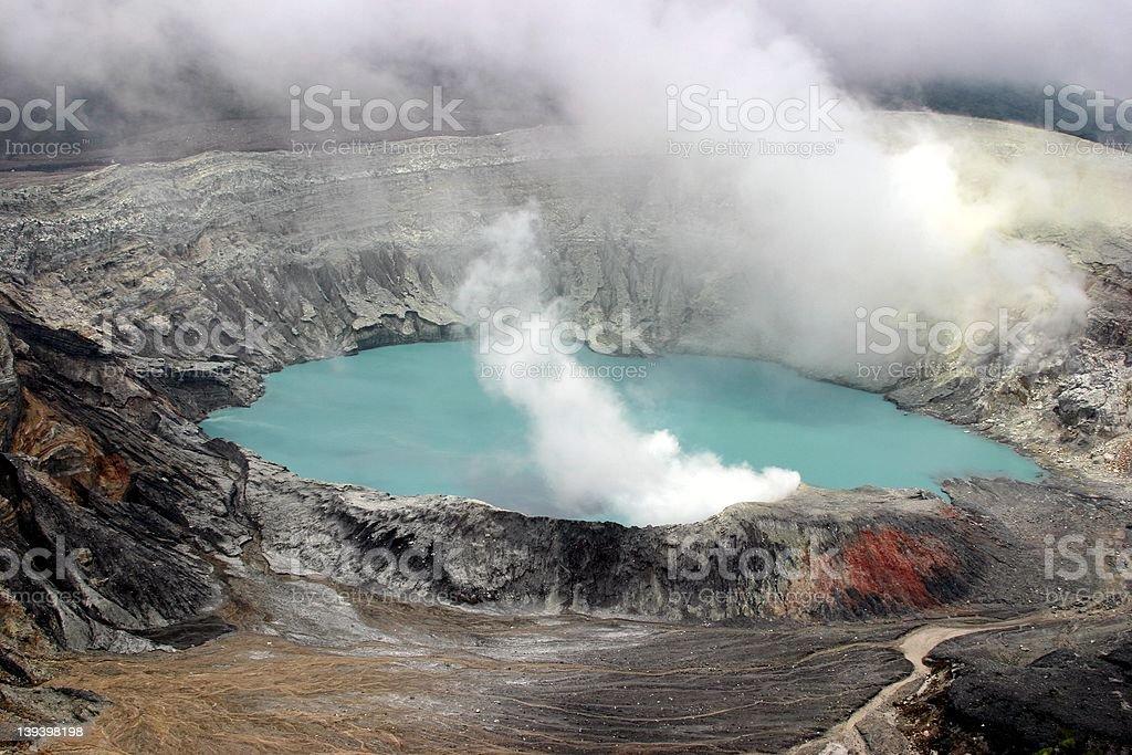 Costa Rica - Volcano stock photo