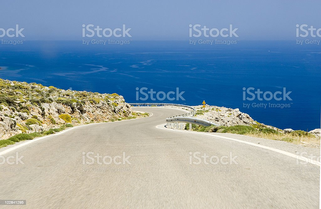 costal road royalty-free stock photo