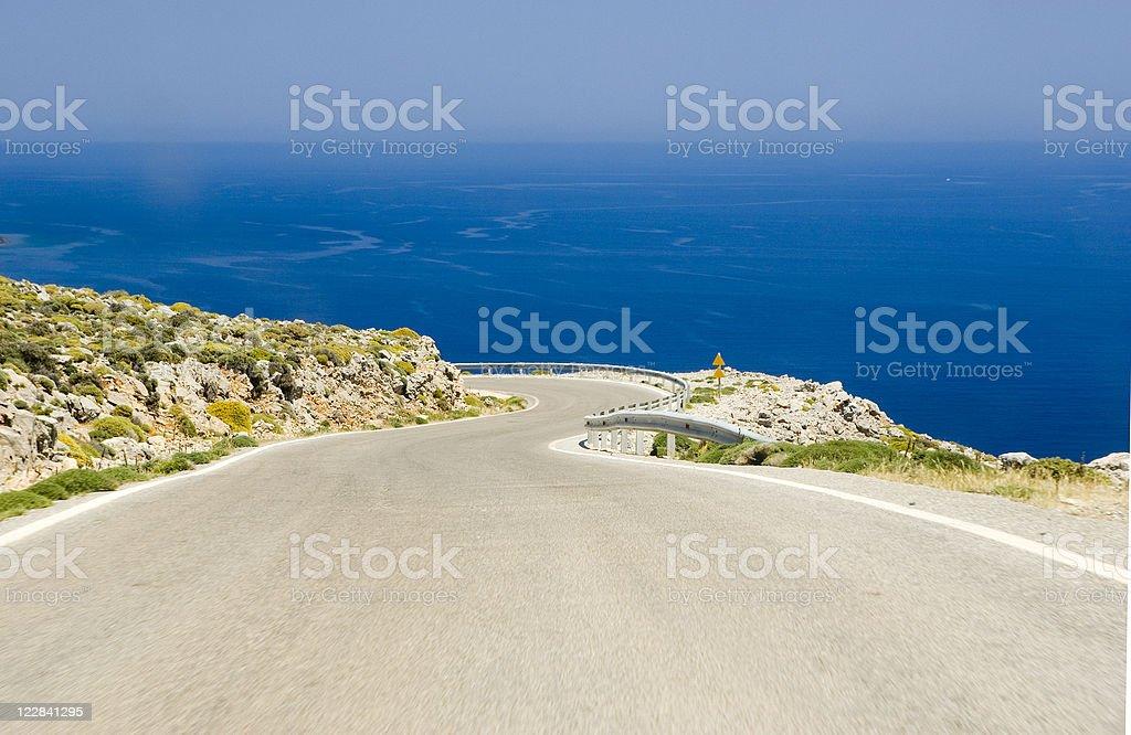 costal road stock photo