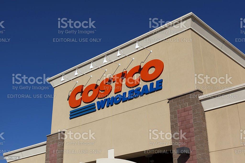 Costco Wholesale royalty-free stock photo