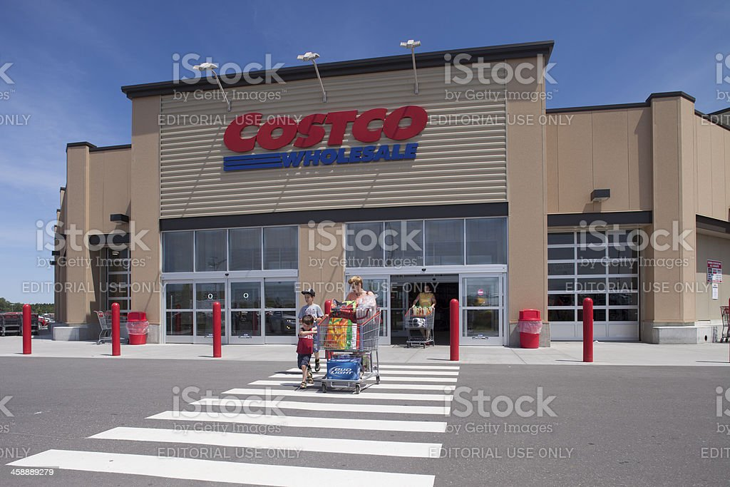 Costco Wholesale stock photo
