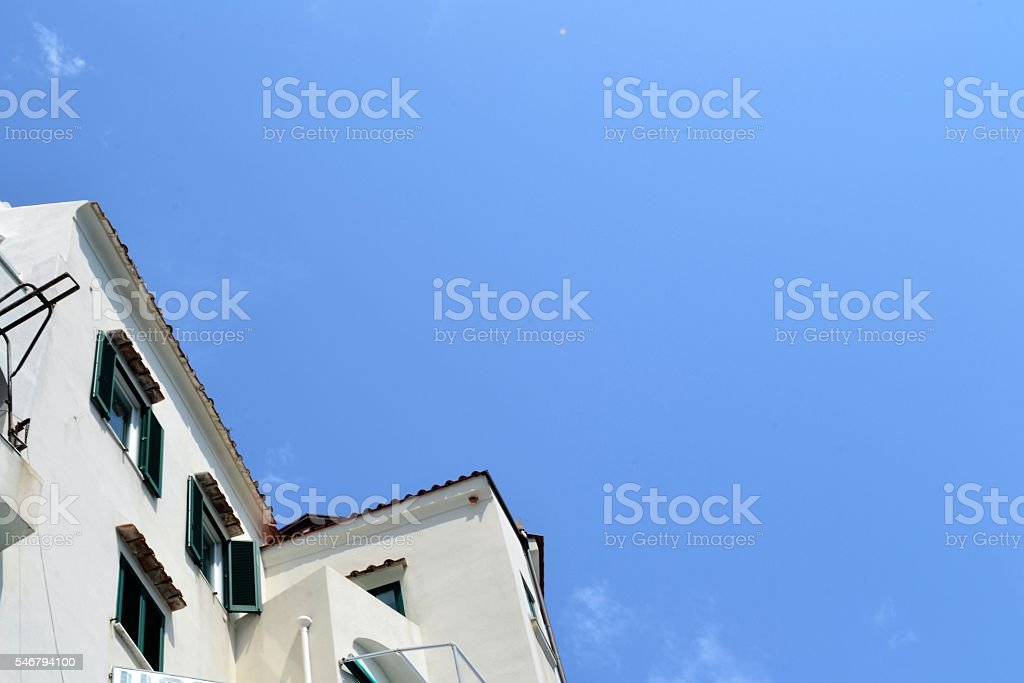 Costiera amalfitana stock photo