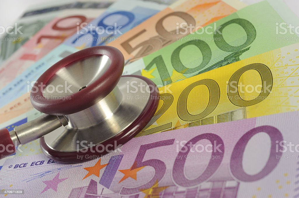 costs for health care royalty-free stock photo