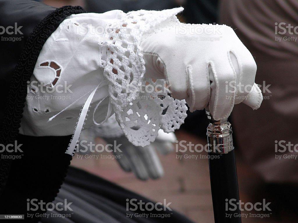 Costume Glove royalty-free stock photo