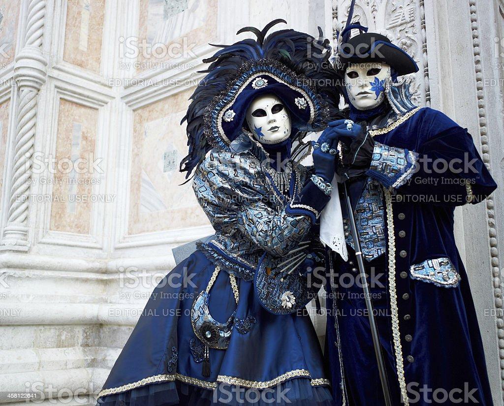 Costume in Venice carnival royalty-free stock photo