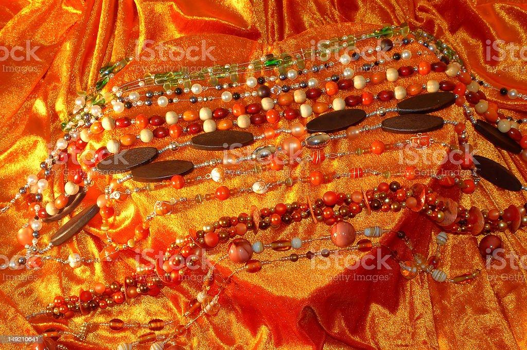 Costume Jewellery stock photo