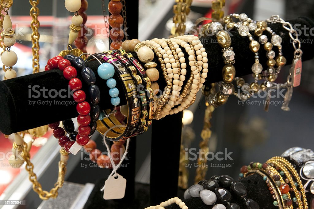 Costume Jewelry royalty-free stock photo