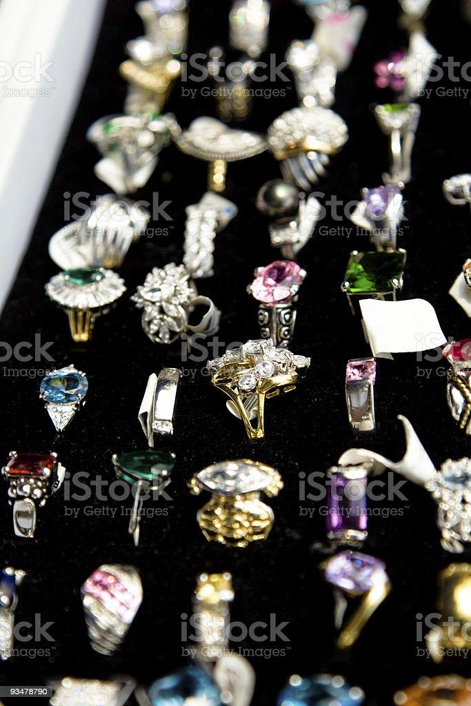 Costume Jewelry stock photo