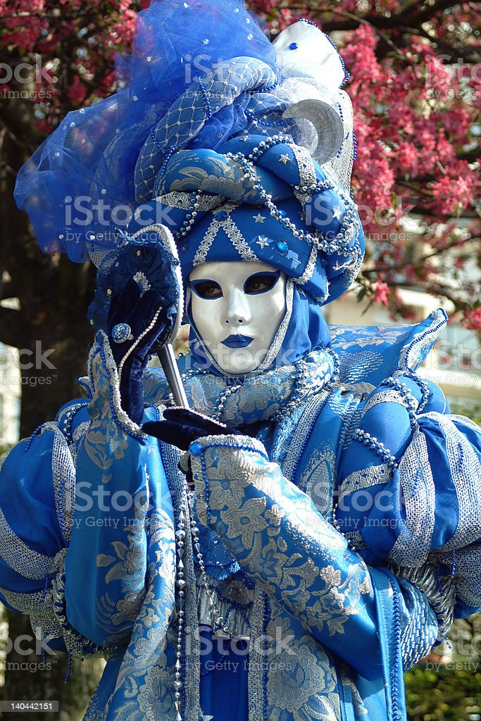 Costume of carnaval royalty-free stock photo