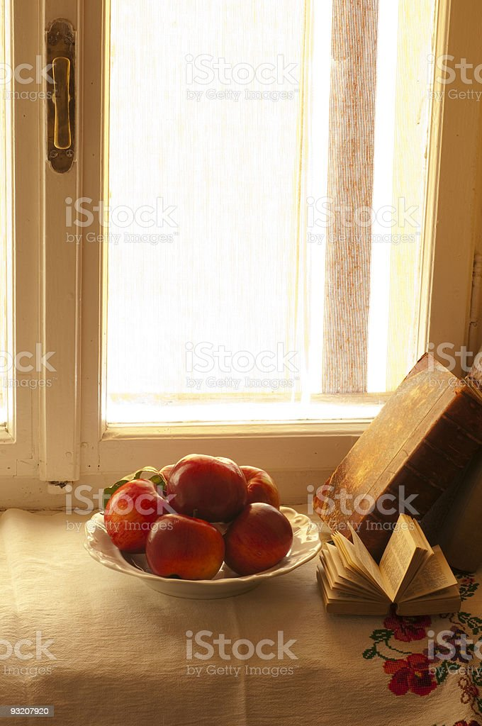 Cosy autumn atmosphere stock photo