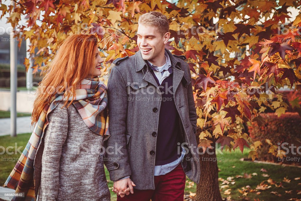 Cosy autumn stock photo