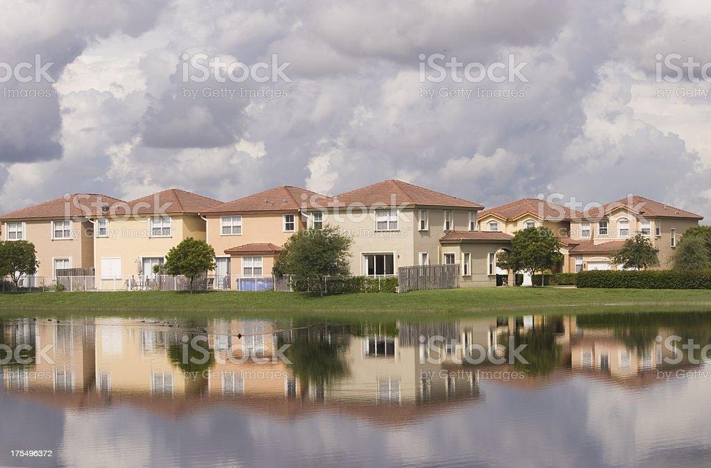 Cosy Neighborhood stock photo