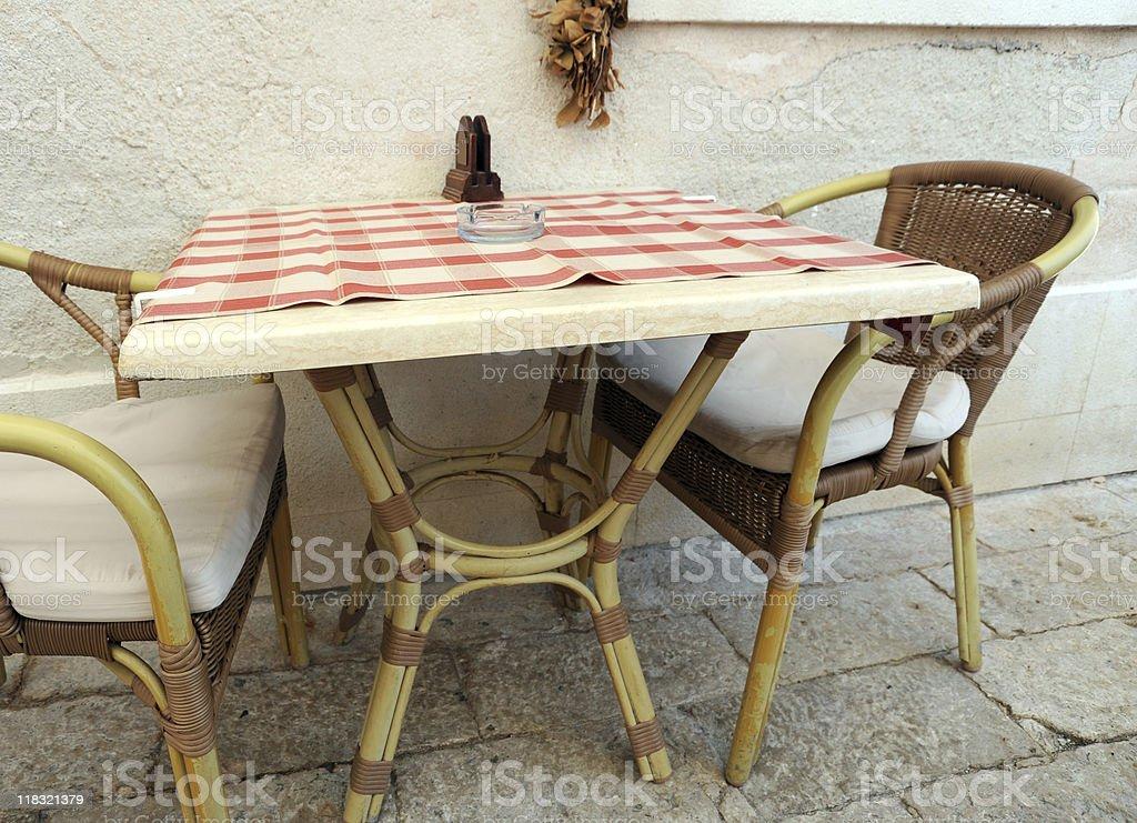 cosy restaurant royalty-free stock photo