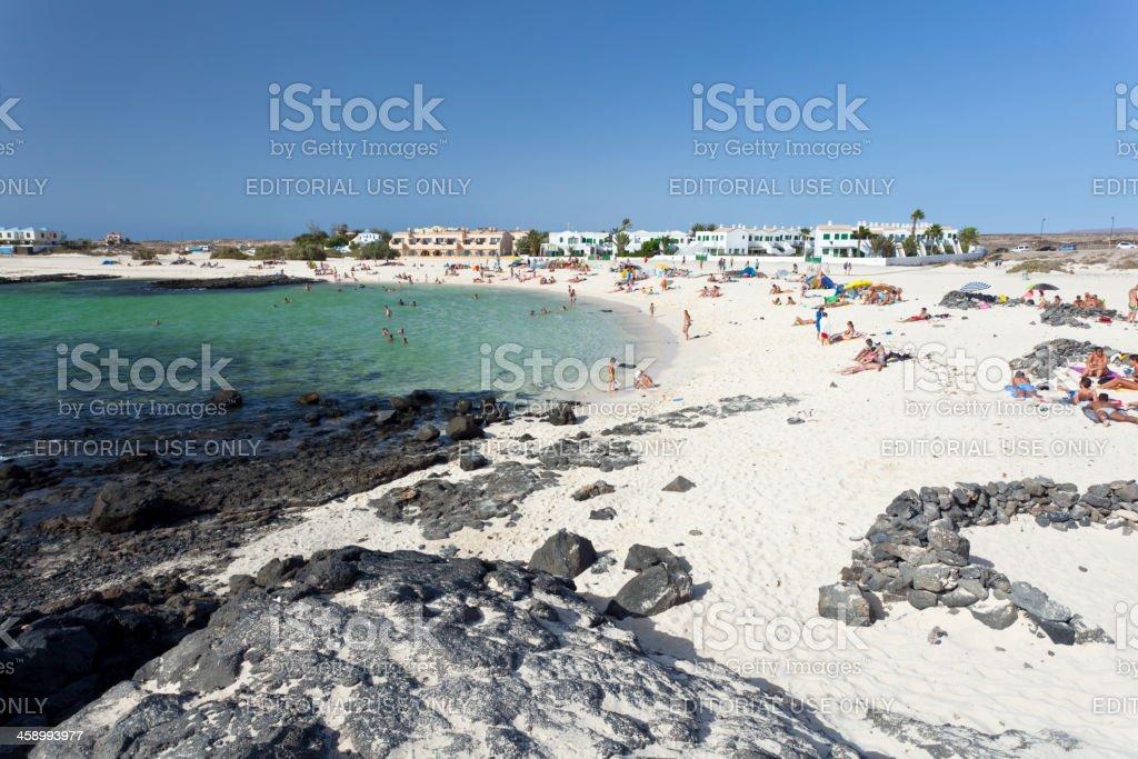 Cotillo Beach, Fuerteventura stock photo