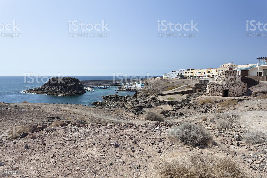 Cotillo Coastline, Fuerteventura stock photo