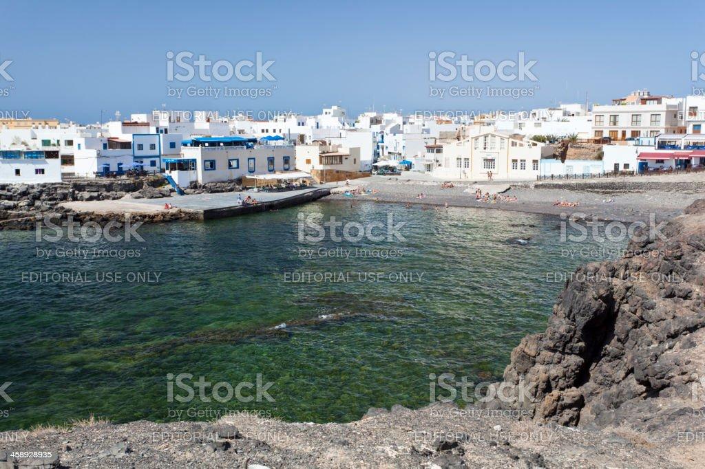 Cotillo, Fuerteventura stock photo