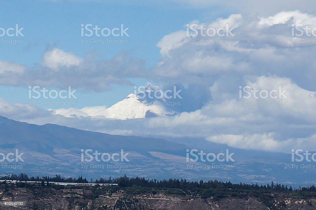 Cotopaxi, Ecuador stock photo