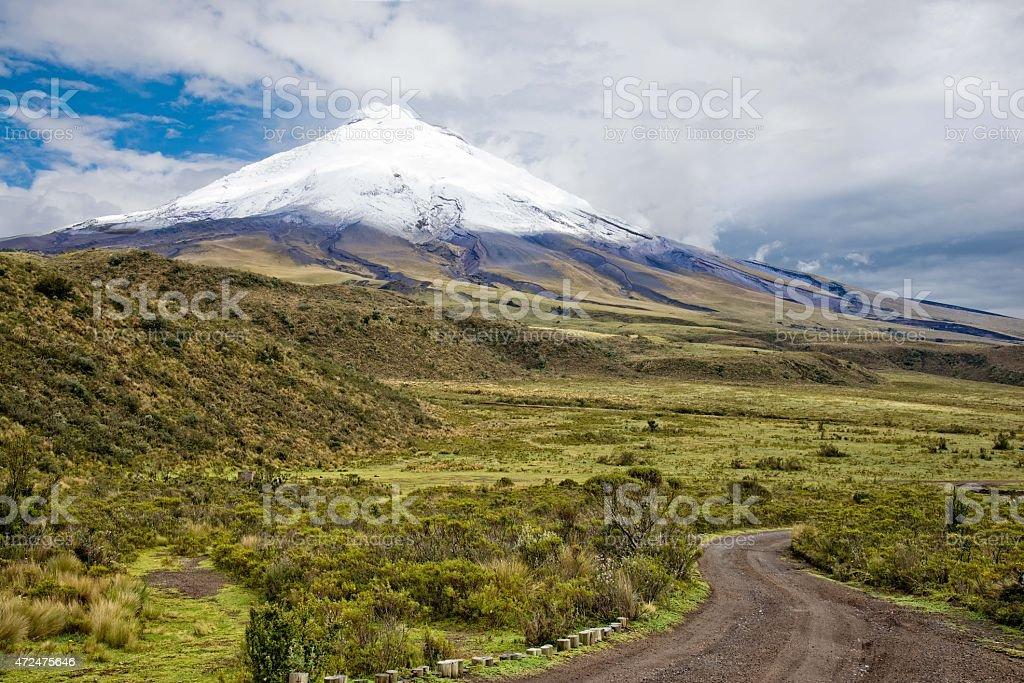 Parque Nacional Cotopaxi stock photo