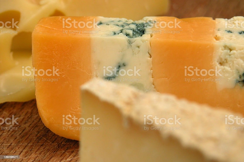 Cotswold Cheese royalty-free stock photo