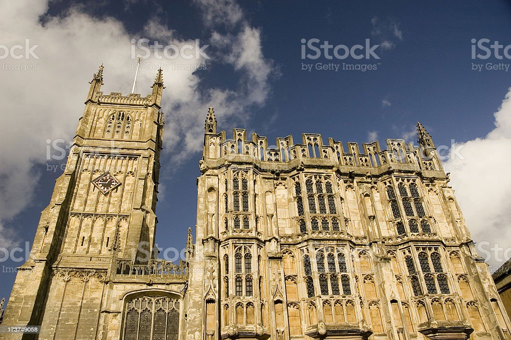 Cotswold Church royalty-free stock photo