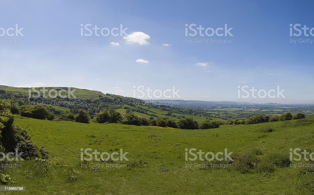 Cotswold countryside. royalty-free stock photo