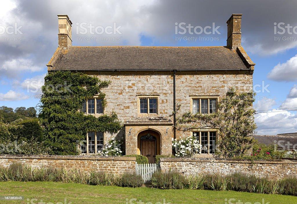 Cotswold farmhouse stock photo