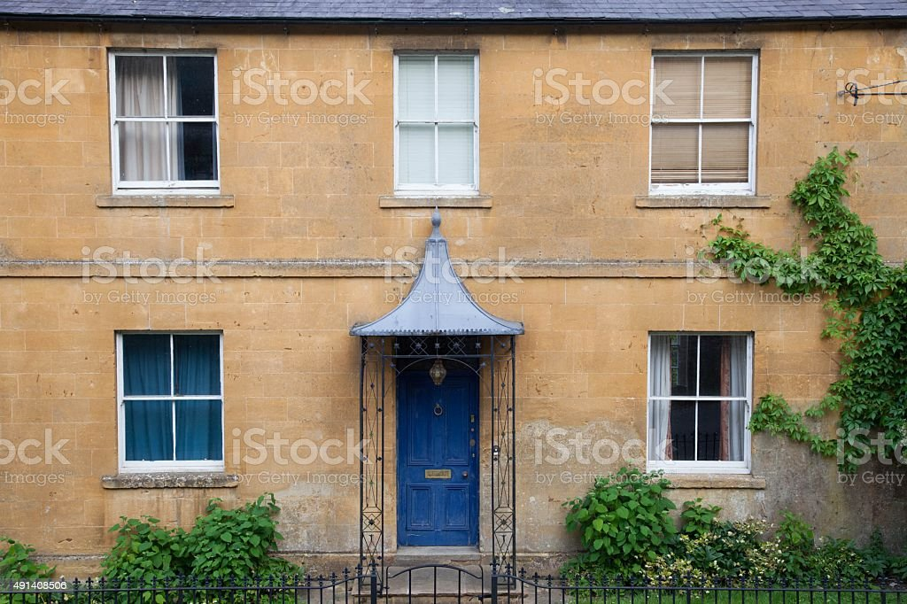 Cotswold house, England stock photo